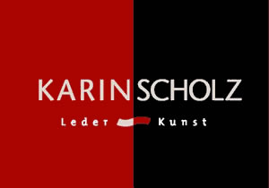Logo von Karin Scholz - Design & Art - bags,  jewelry and accesoirs made with leather